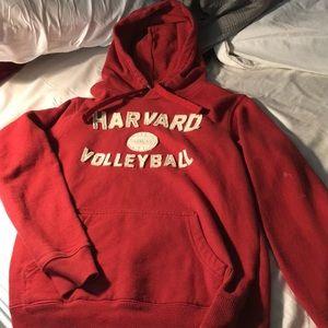 Harvard volleyball hoodie sweatshirt
